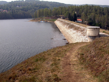 Water supply channels Strvno and Čemernik